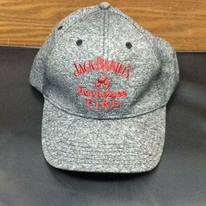 Jack Daniels Tennessee Fire Whiskey strap back hat